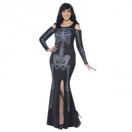 Curves Skeleton Halloween Costume