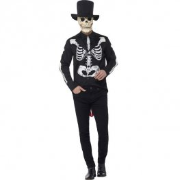Day Of The Dead Senor Skeleton Costume
