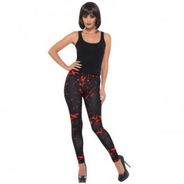 Black Horror Leggings
