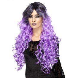Lilac Purple Gothic Glamour Wig