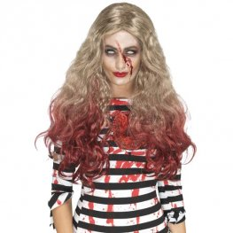 Deluxe Zombie Blood Drip Wig