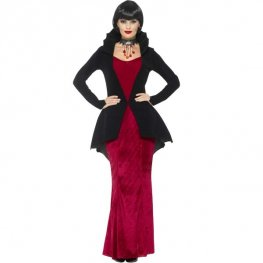 Deluxe Regal Vampiress Halloween Costume