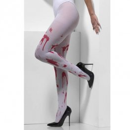 Blood Splatter Opaque Tights