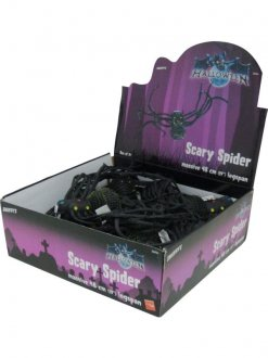 Spooky Spider Toys 24pk