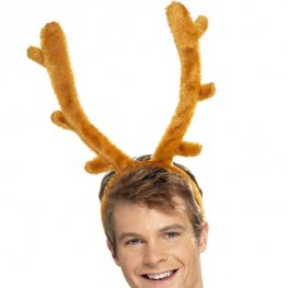 Stag Night Horns On Headband