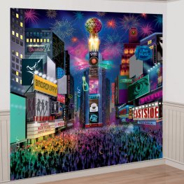 Times Square New Year Wall Decoration Kit