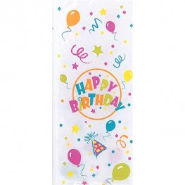 Birthday Blast Cello Bags 20pk