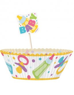 Baby Shower Cupcake Kit
