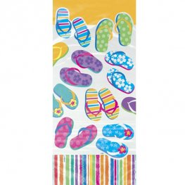 Flip Flop Fun Cello Bags 20pk
