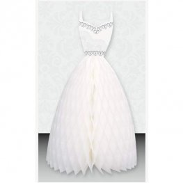 Wedding Dress Honeycomb Decoration