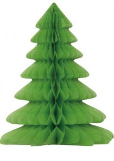 Christmas Tree Honeycomb Table Decoration
