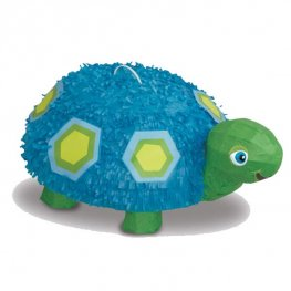 3D Blue Turtle Pinata