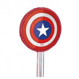 Captain America Shield 3D Pinata