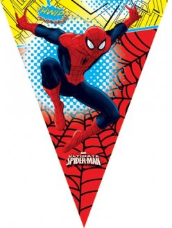 Ultimate Spiderman Flag Banner