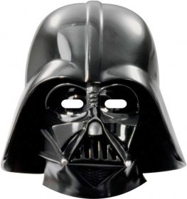 Star Wars Darth Vader Paper Mask x6