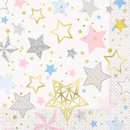 Twinkle Twinkle Little Star Lunch Napkins 16pk