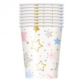 Twinkle Twinkle Little Star Paper Cups 8pk