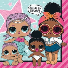 L.O.L Surprise Lunch Napkins 16pk