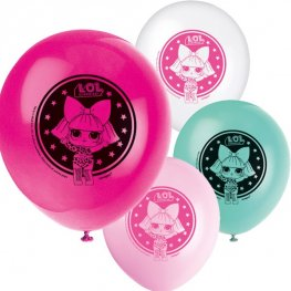 "12"" L.O.L Surprise Latex Balloons 8pk"