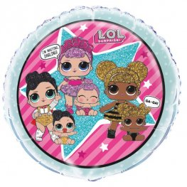 "18"" L.O.L Doll Surprise Foil Balloons"