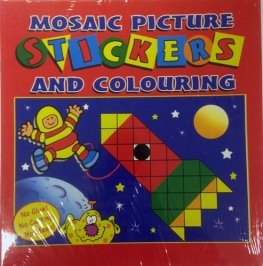 Mosaic Sticker Fun Books x12