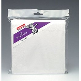 White Napkins 6 Packs Of 20