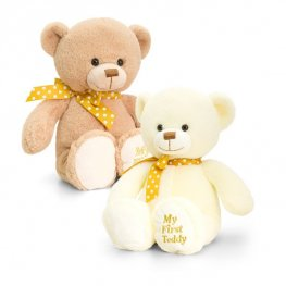 25cm Supersoft My First Teddy Bear