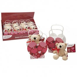 "4.5"" Love Bear In A Gift Bag"