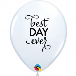 "11"" Simply Best Day Ever Latex Balloons 25pk"