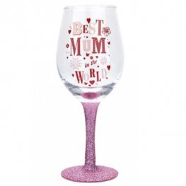 Best Mum Wine Glass