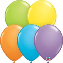 "11"" Bright Pastel Assorted Latex Balloons 100pk"