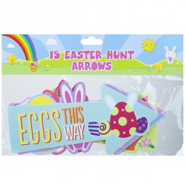 Easter Egg Hunt Arrows 15pk