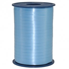 Light Blue Satin Curling Ribbon 500m