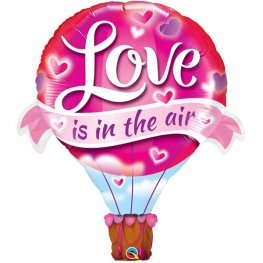 Love Is In The Air Supershape Balloons