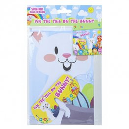 Pin The Tail On The Bunny Easter Game