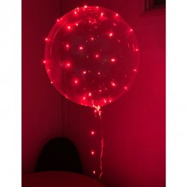5m Red LED Light Up Balloon Lights