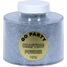 Silver Holographic Crafting Powder