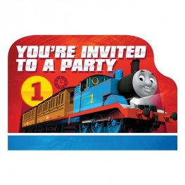 Thomas & Friends Postcard Invitations 8pk