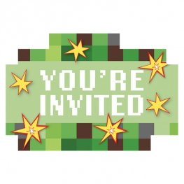 TNT Party! Postcard Invitations 8pk