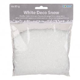 White Decoration Snow 85g