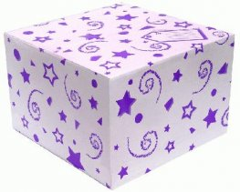 Purple Balloon Box