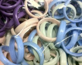 Pastle Bangle Balloons Weights x100