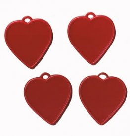 Red Heart Balloon Shaped Weights x100