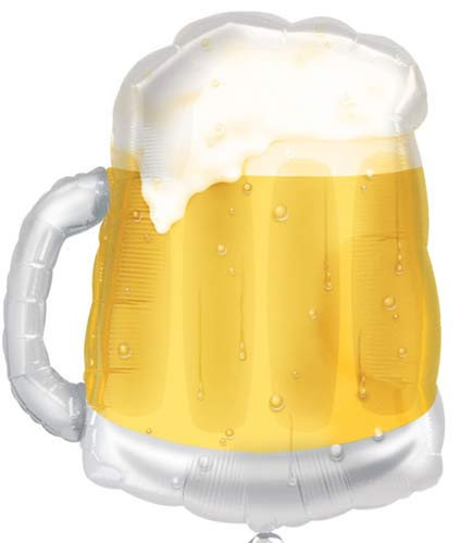 Beer Mug Supershape Balloons