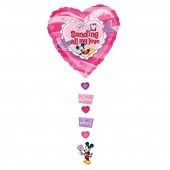 Mickey Sending All My Love Drop A Line Balloons