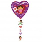 Dora The Explorer Love Drop A Line Balloons