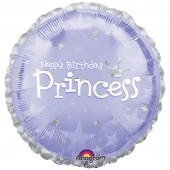 "18"" Express Yourself Birthday Princess Foil Balloons"
