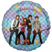 "18"" Camp Rock Rockin Birthday Foil Balloons"
