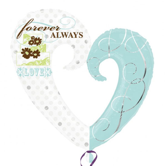 Forever Always Supershape Balloons