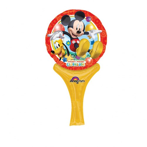 "6"" Disney Mickey Mouse Inflate A Fun Air Filled Foil Balloons"